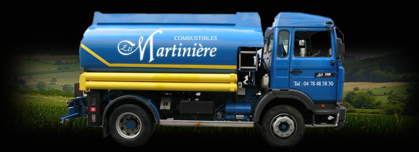 Les Etablissements Martinière c'est également vos combustibles à domicile sur simple rendez-vous